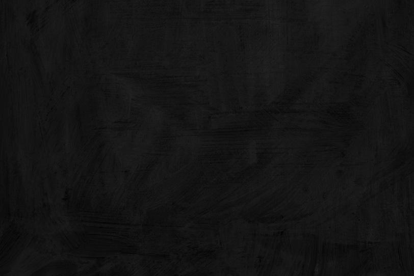 ペイントした真っ黒な壁紙
