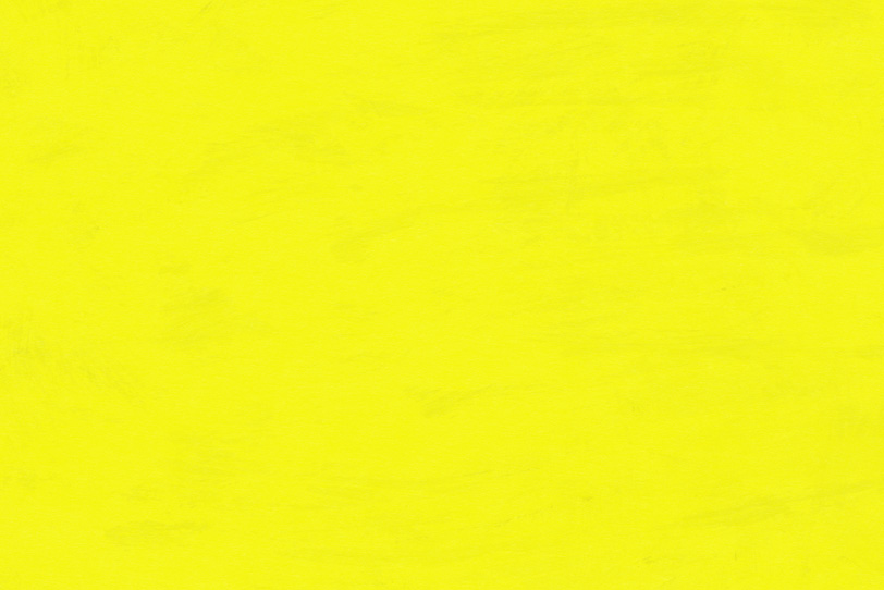 黄色を塗ったオシャレな壁紙
