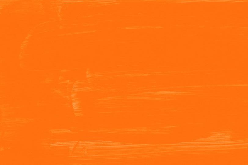 オレンジの無地壁紙でクールな画像