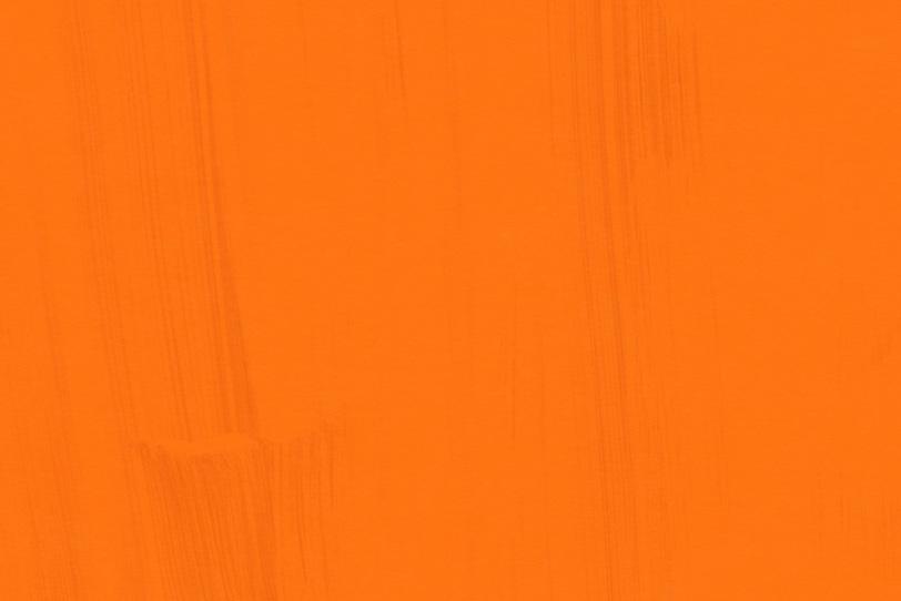 オレンジのペイントの綺麗な壁紙