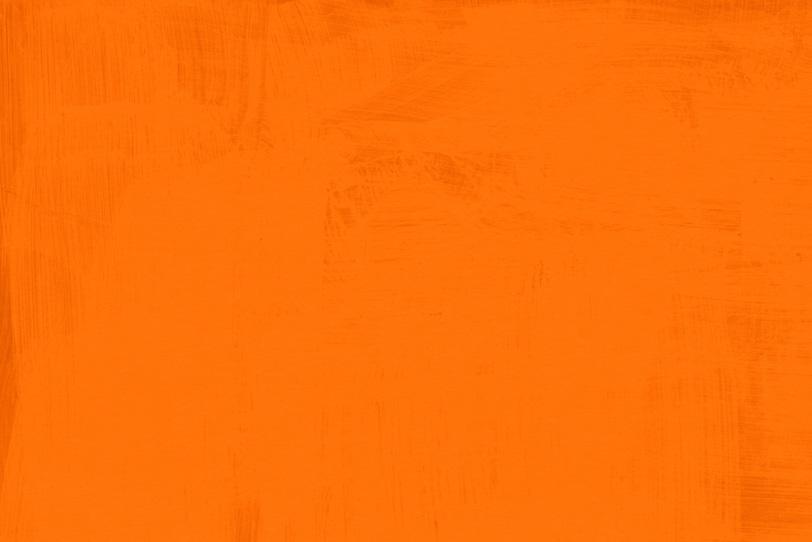 オレンジ色に塗った綺麗な壁紙画像