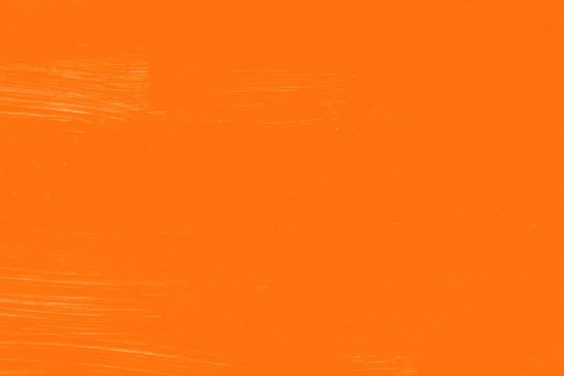 オレンジの水彩絵具のテクスチャ