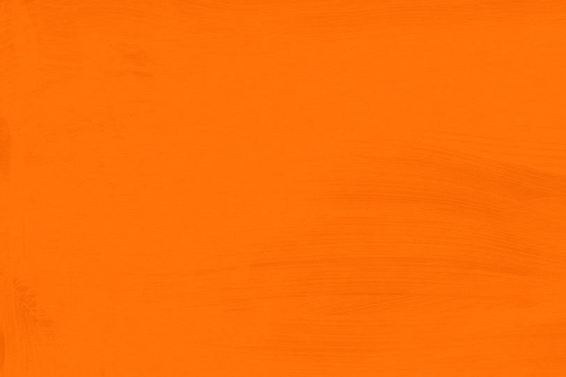 オレンジ色にペイントした綺麗な壁紙