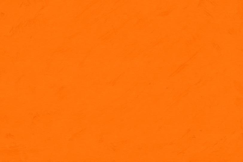 ペイントした可愛いオレンジの壁紙