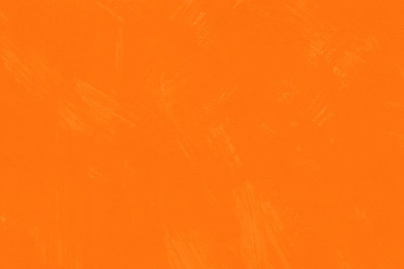 筆跡の残るオレンジ色の背景壁紙