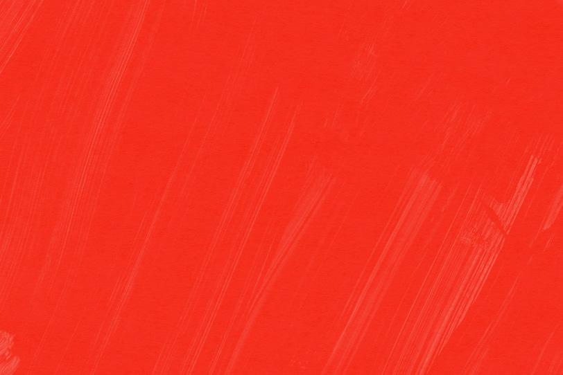 かわいい赤色をペイントした壁紙