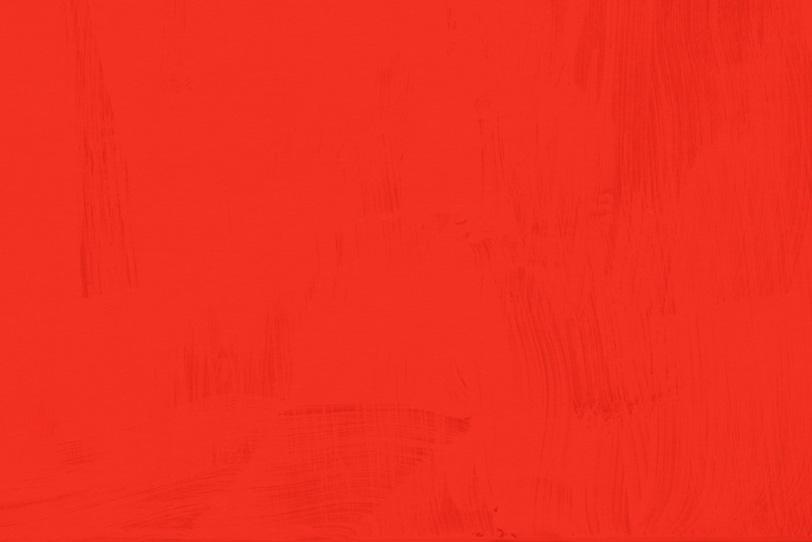 綺麗にペイントした赤色壁紙