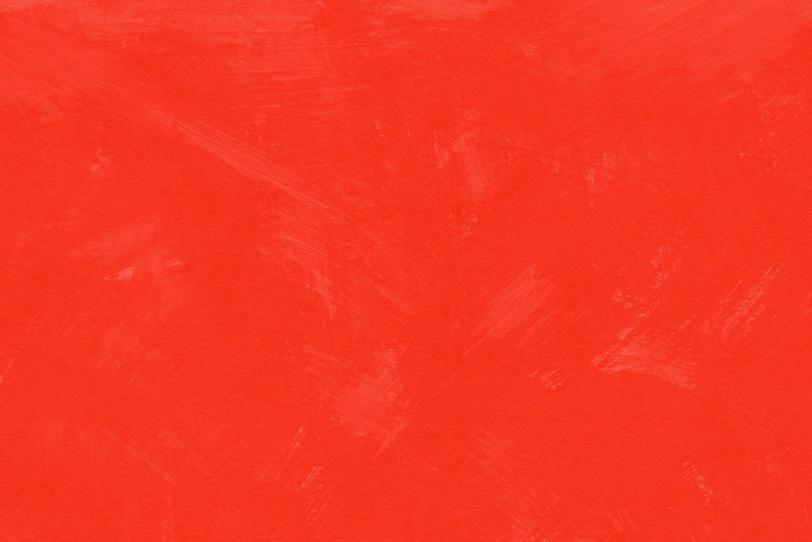 塗りムラのある赤のペイント壁紙