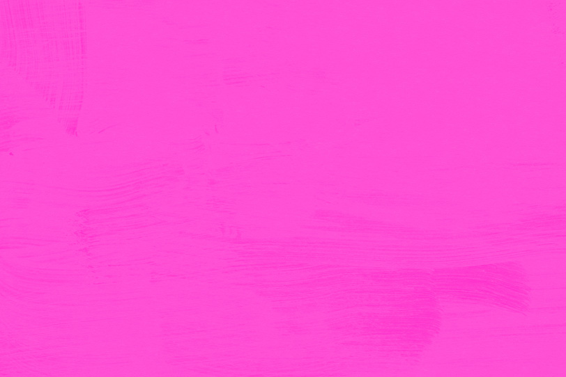 綺麗に筆で塗ったピンクの壁紙