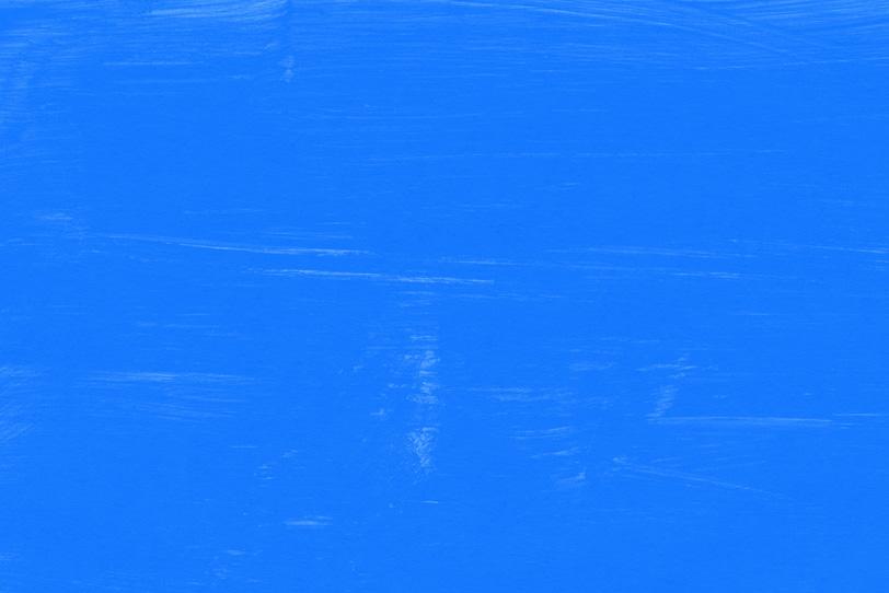 綺麗な青を塗ったオシャレな壁紙