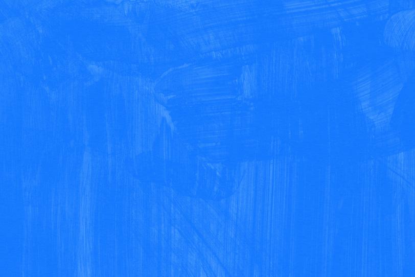 青色の水彩ペイントの壁紙