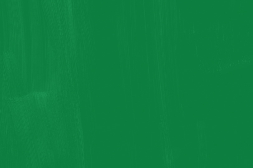 グリーンペイントのお洒落な壁紙