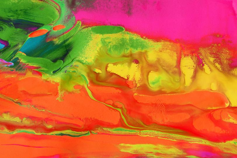 ポップカラーのオシャレな背景壁紙