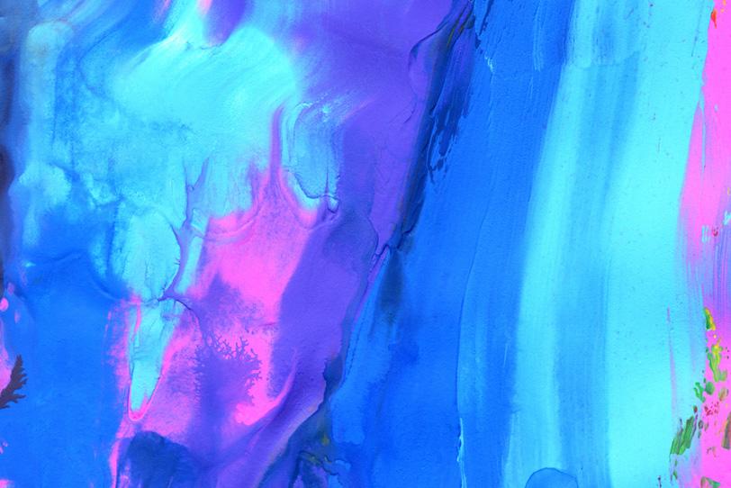 ブルーとピンクのシンプルな壁紙