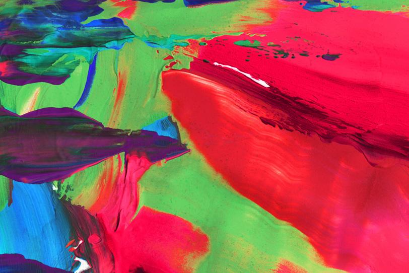 抽象的なペインティングのおしゃれ壁紙