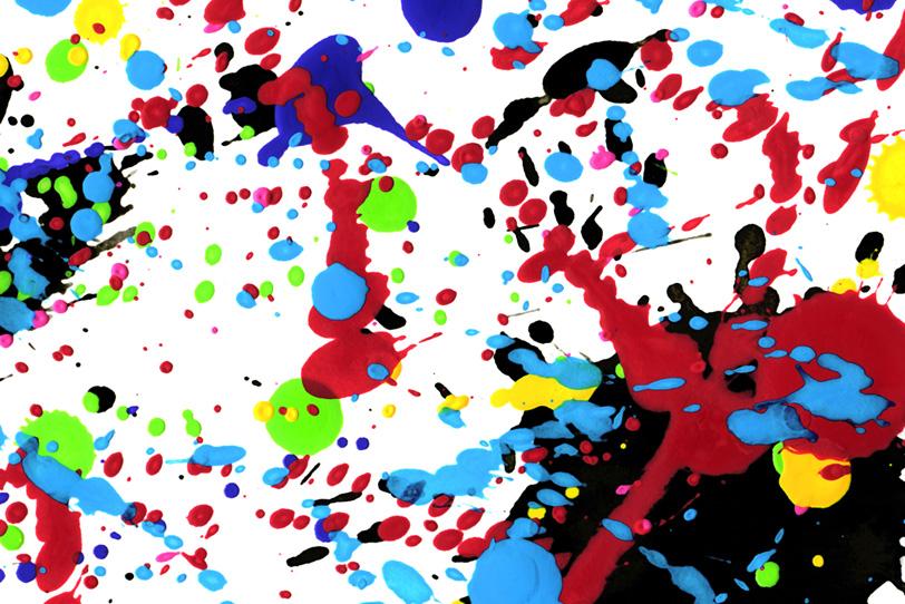 白の背景にシンプルな水彩の壁紙画像