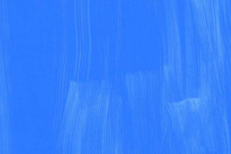 青色無地のシンプルでおしゃれな壁紙