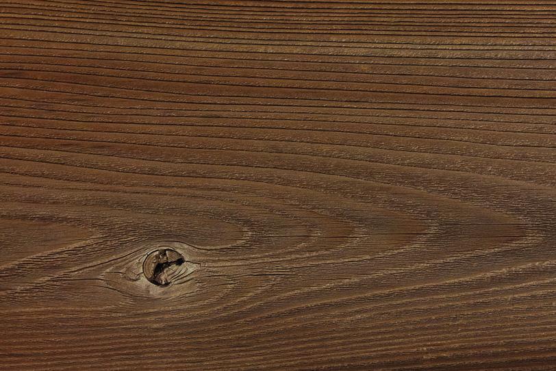 節と年輪がある古い木材の写真画像