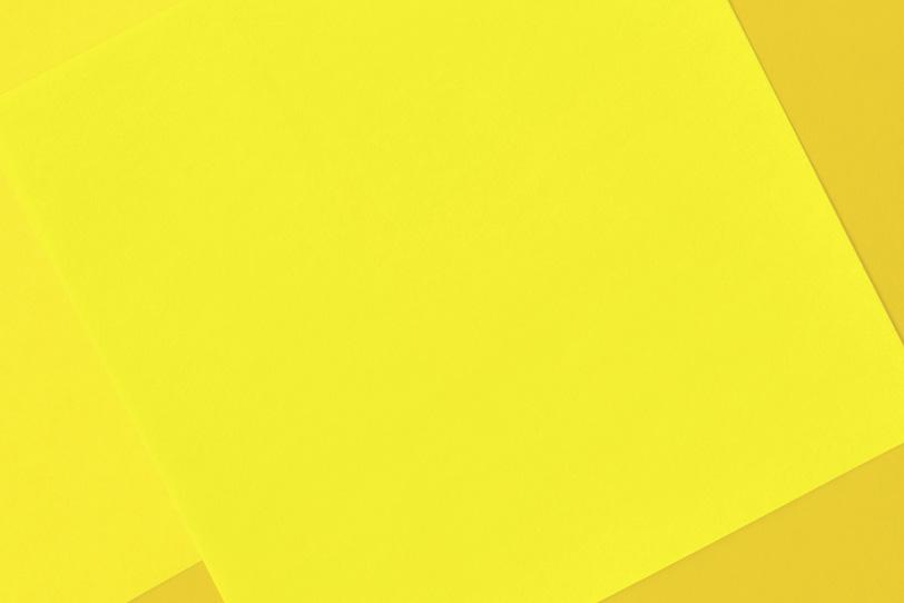 綺麗な黄色のシンプルな写真