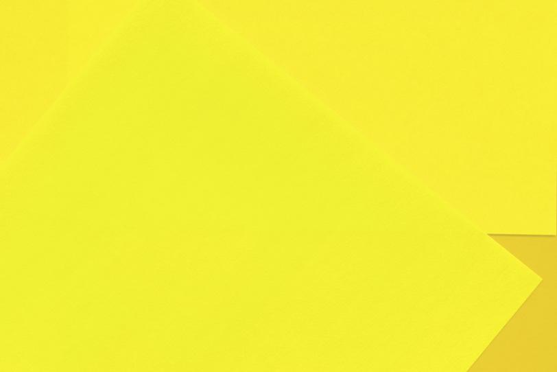 クールな黄色のシンプルな壁紙