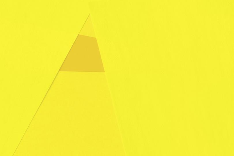 黄色のシンプルな無地画像