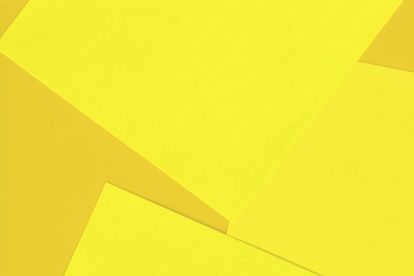 黄色のシンプルでクールな写真