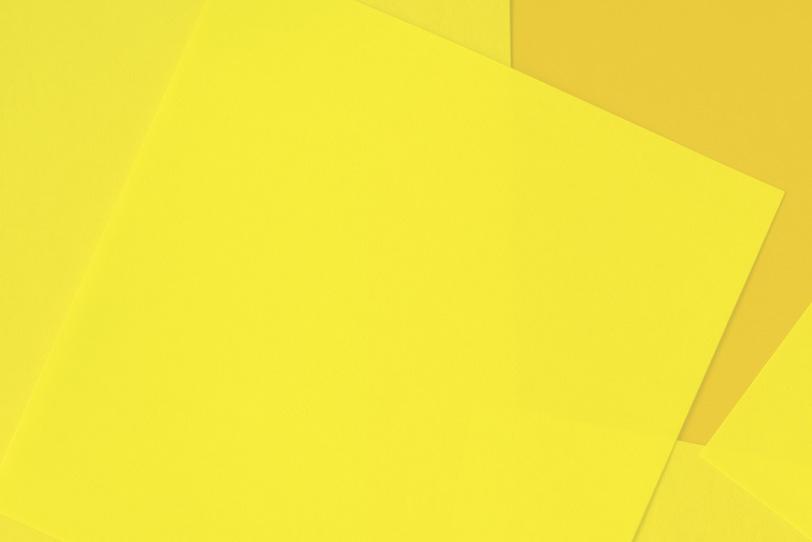 黄色のシンプルなフリー画像