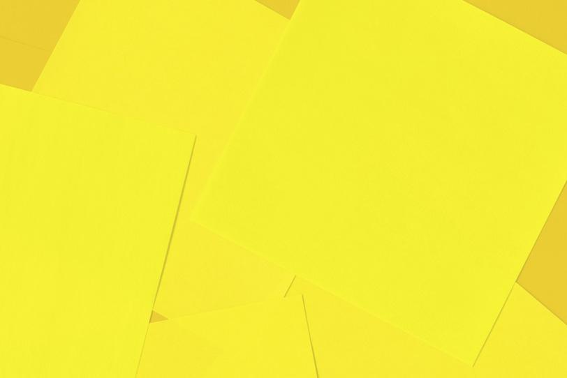 シンプルな黄色のおしゃれな素材
