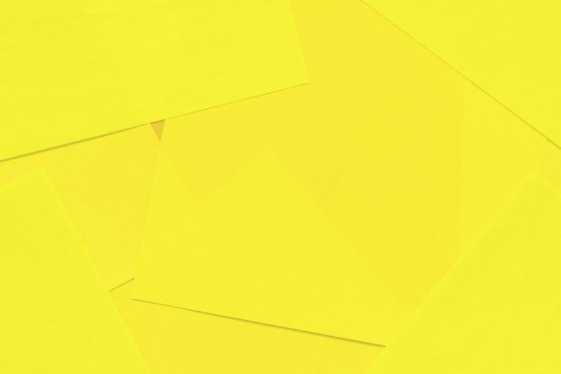 シンプルな黄色の綺麗な画像