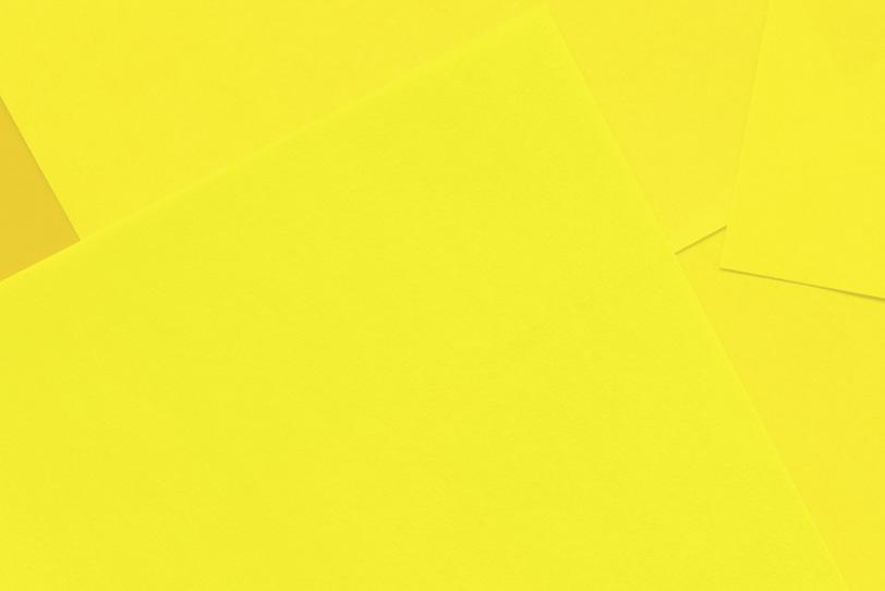 シンプルな黄色のフリー素材