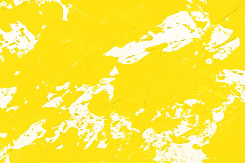 黄色のシンプルでオシャレな画像