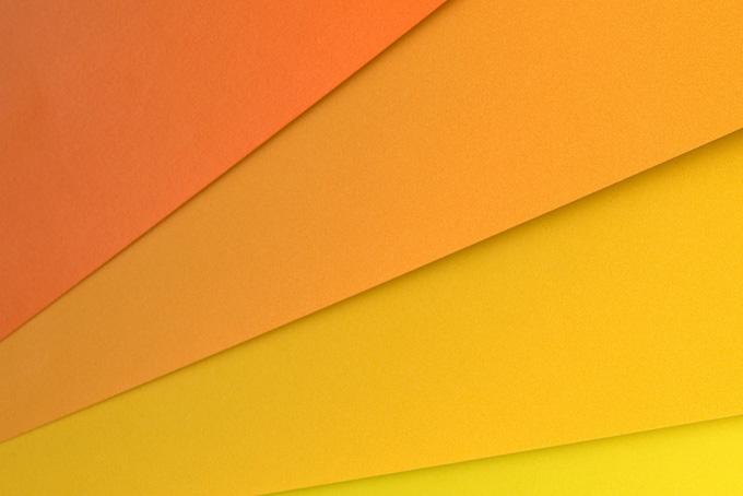 暖色系のカラー