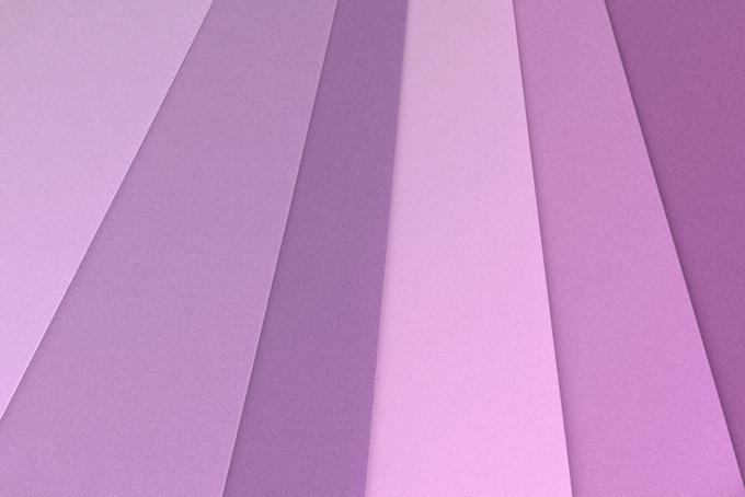 暖色系のパステルカラー
