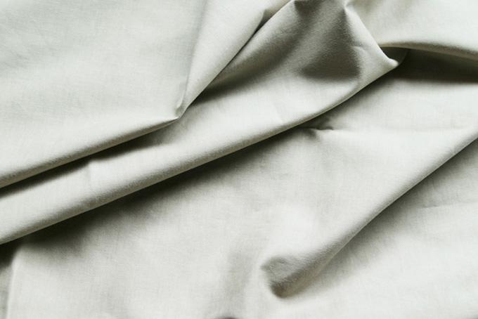 ナチュラルな綿の生地の素材