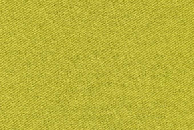 黄緑色の綿の生地の写真