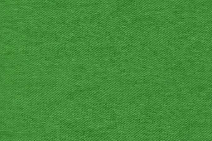 緑色に染められた綿の布