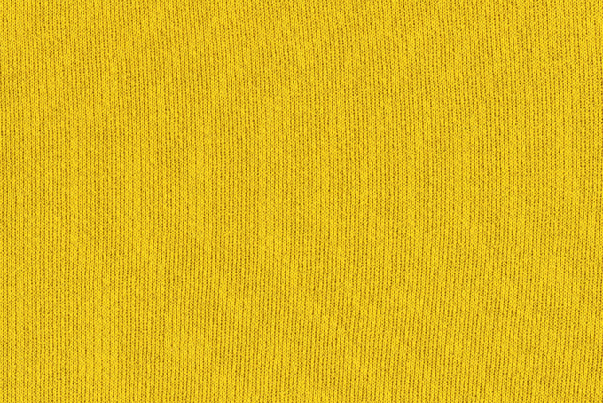 黄色い伸縮性のある布
