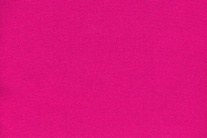 ピンクの綿ジャージー生地