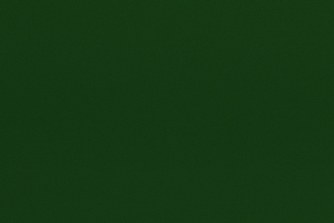 細かい織目の緑色の布地