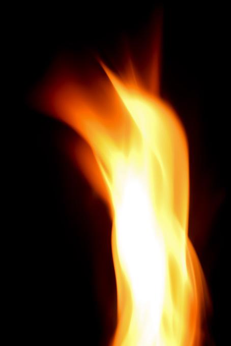 炎 黒背景(火 テクスチャの画像)