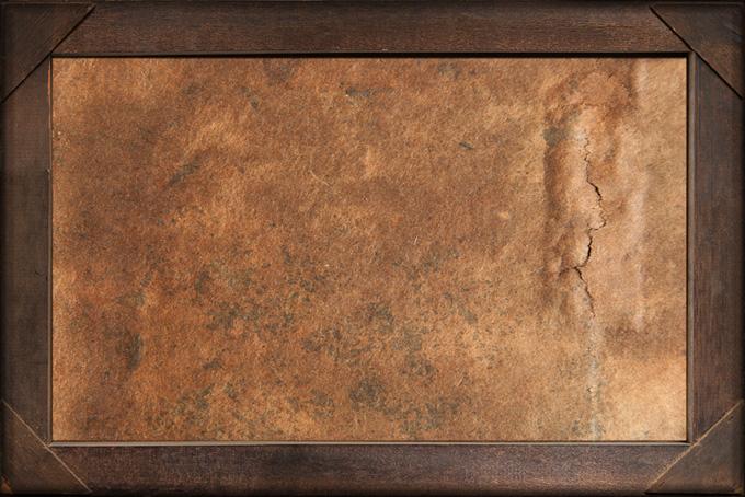 北欧風の素朴な作りの木製額縁