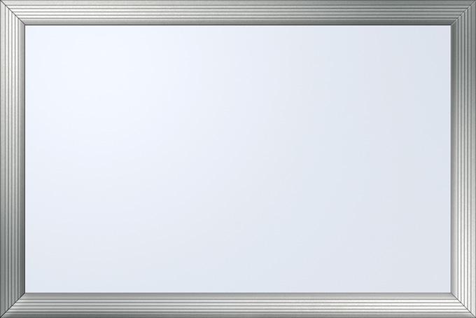 シルバー枠のホワイトボード