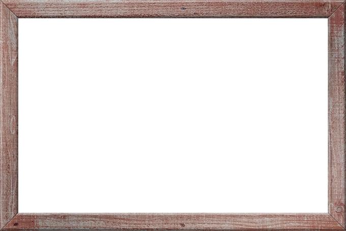 手作り風の木製フレーム