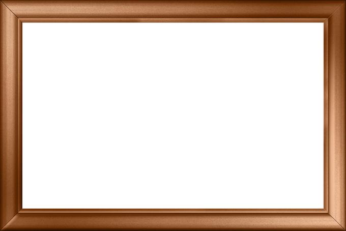 銅製のクラッシックなフレーム枠