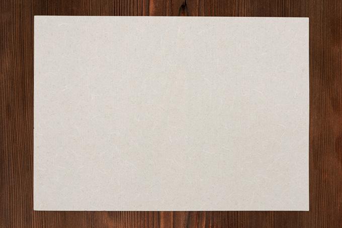 古い木の板と和紙の背景