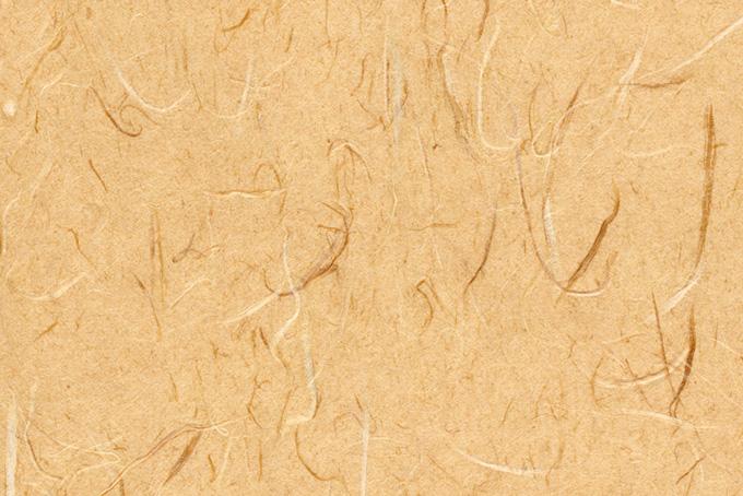 温かみのある大和柿色の和紙