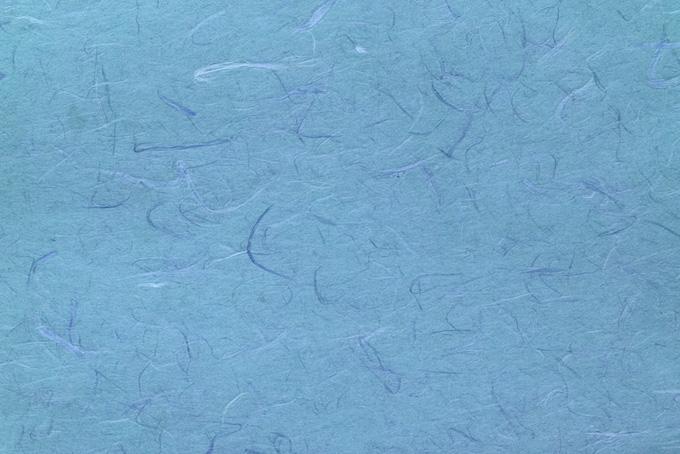 涼しさを感じる水色の雲龍和紙
