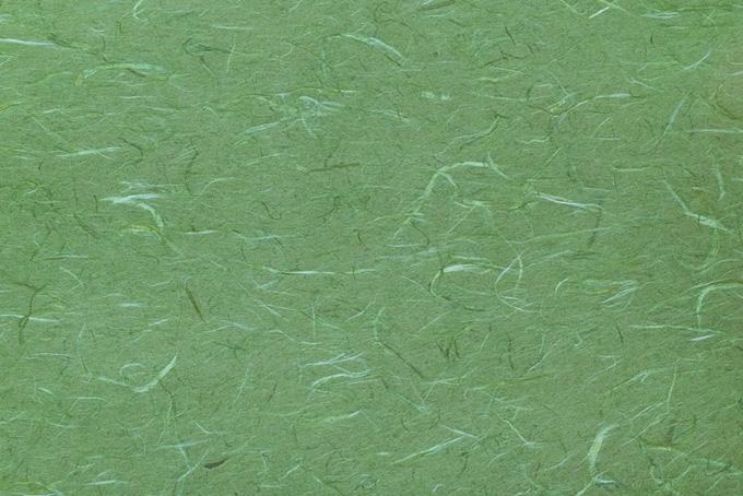 草色の和紙のテクスチャ