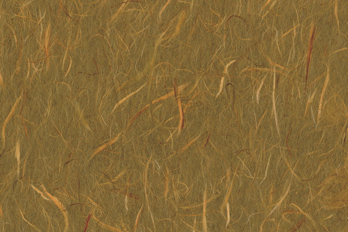 雲竜模様入の銀煤竹色の和紙
