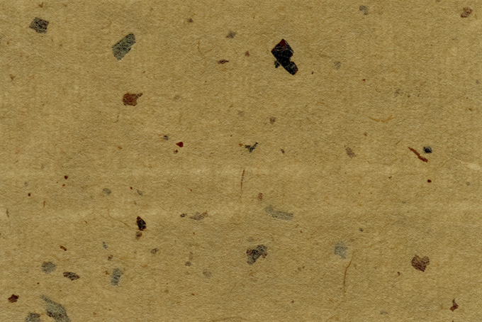皮模様が入った焦茶色の和紙